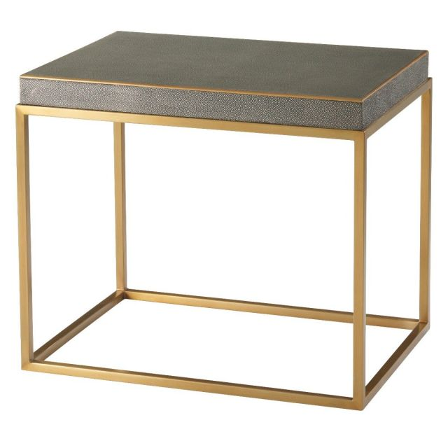 TA Studio Side Table Fisher in Tempest