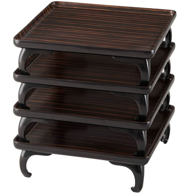 Theodore Alexander Side Table Four Tired Christophe