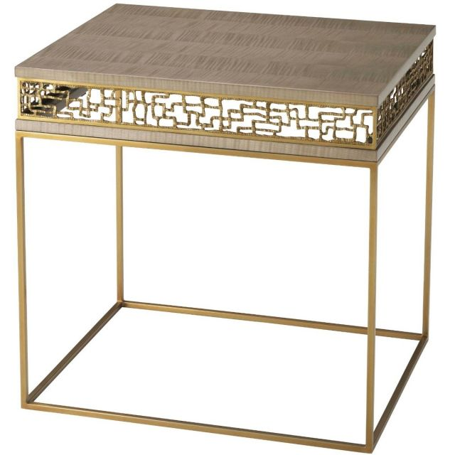 TA Studio Frenzy Side Table in Sycamore