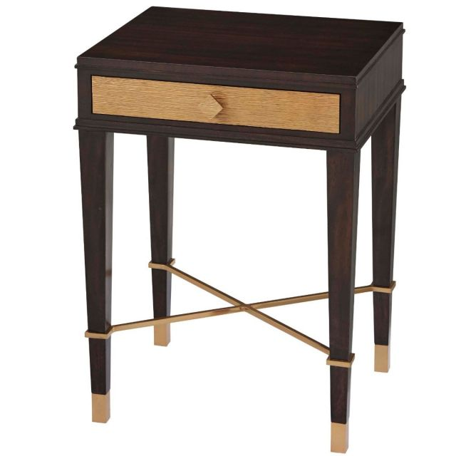 Theodore Alexander Side Table Mahogany Dara