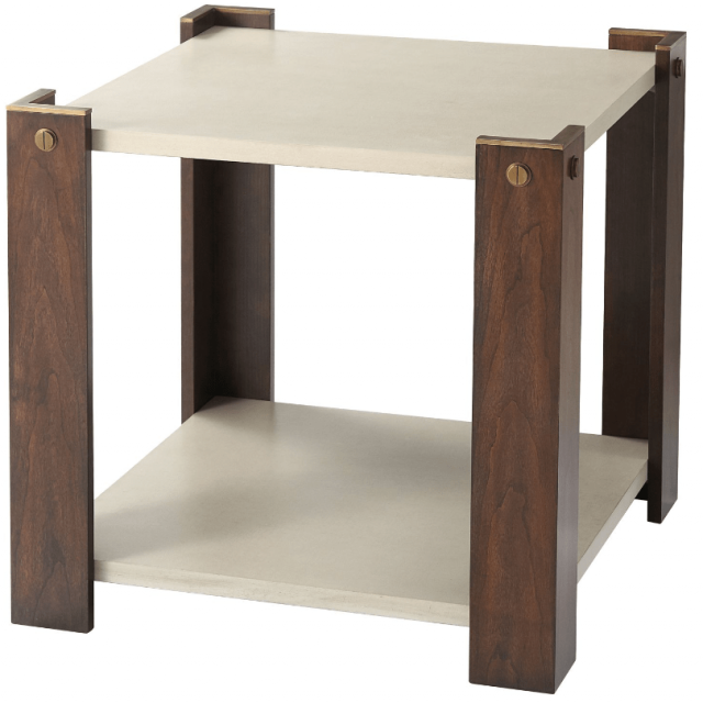 TA Studio Side Table Tristan in Almond