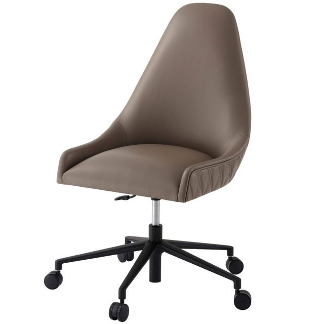 Theodore Alexander Prevail Executive Desk Chair in Leather