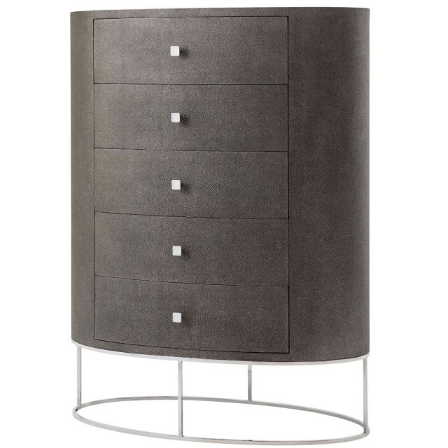 TA Studio Payton Tall Chest of Drawers in Tempest