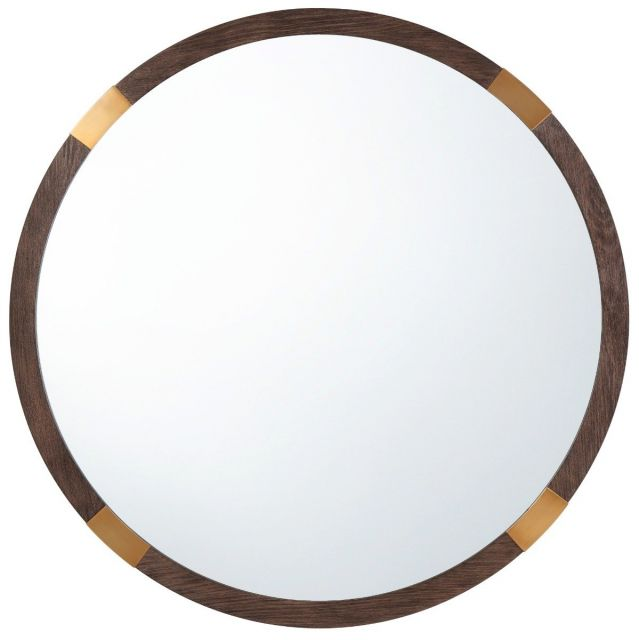 TA Studio Round Wall Mirror Orion in Cardamon