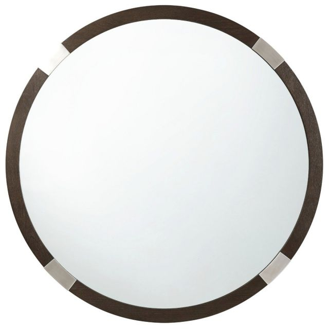 TA Studio Round Wall Mirror Orion in Anise