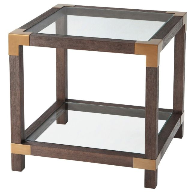 TA Studio Square Side Table Rayan in Cardamon