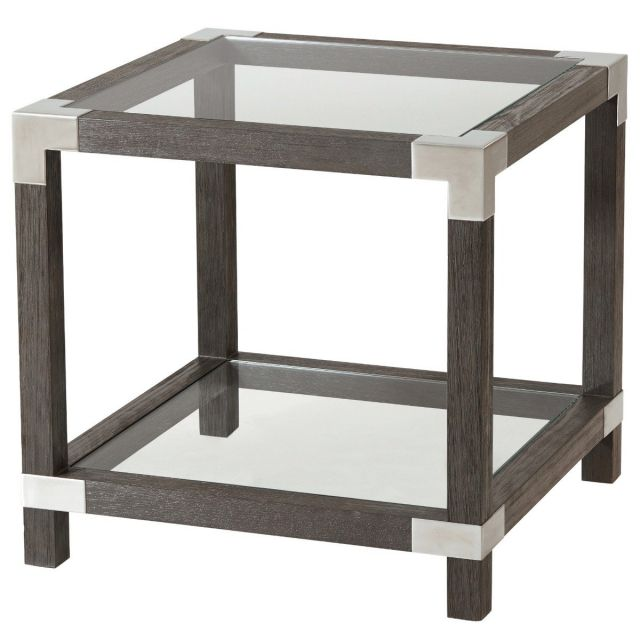 TA Studio Square Side Table Rayan in Anise