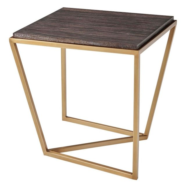 TA Studio Square Side Table Crazy X in Rowan