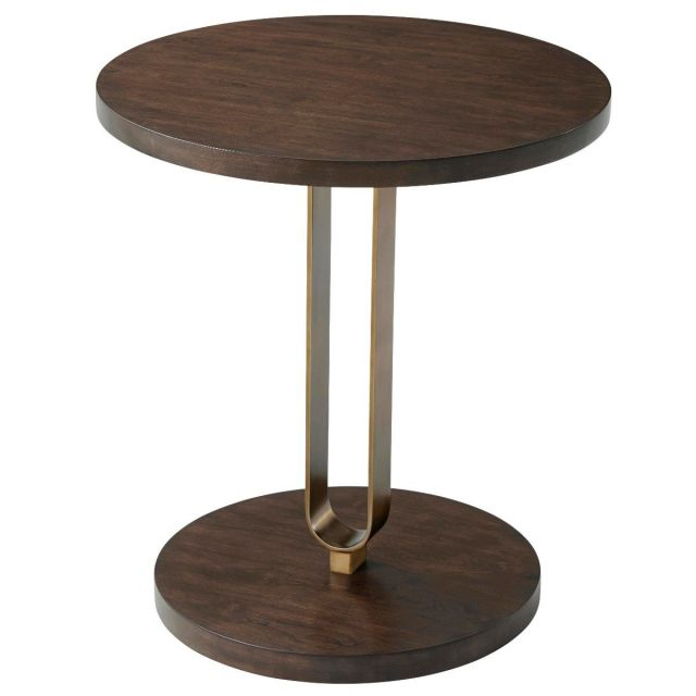TA Studio Accent Table Emannuel  in Almond