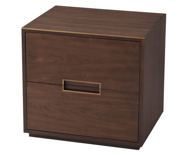 TA Studio Small Bedside Table Bosworth in Almond