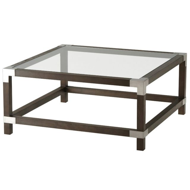 TA Studio Square Coffee Table Morrison Large in Anise