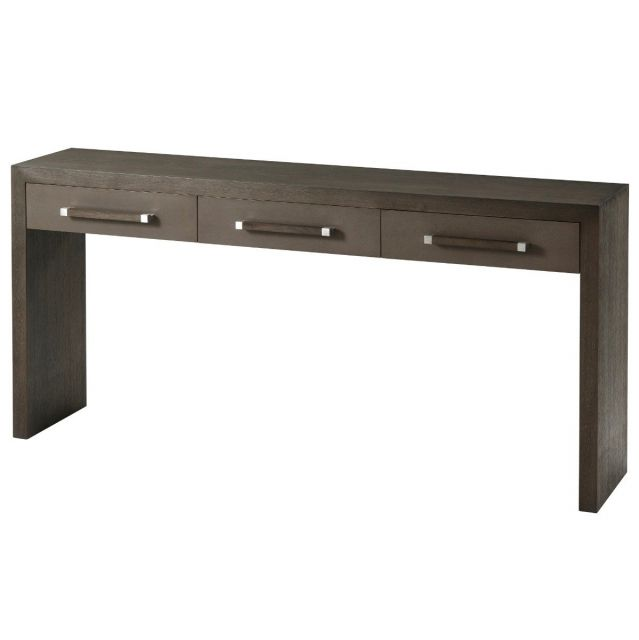 TA Studio Console Table Isher 3 Drawer in Anise