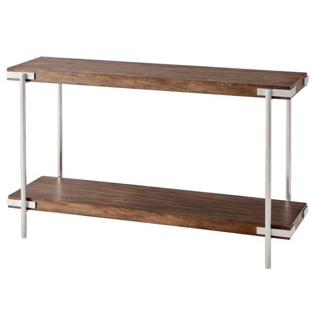TA Studio Console Table Milan - Mangrove & Nickel