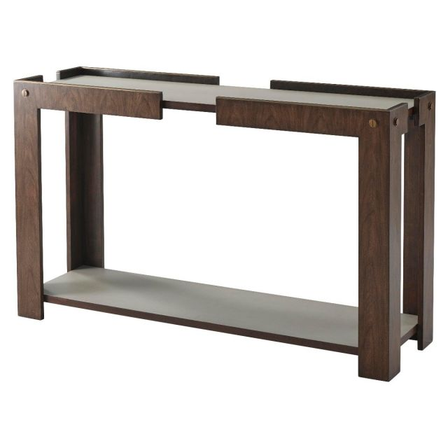 TA Studio Console Table Tristan in Almond