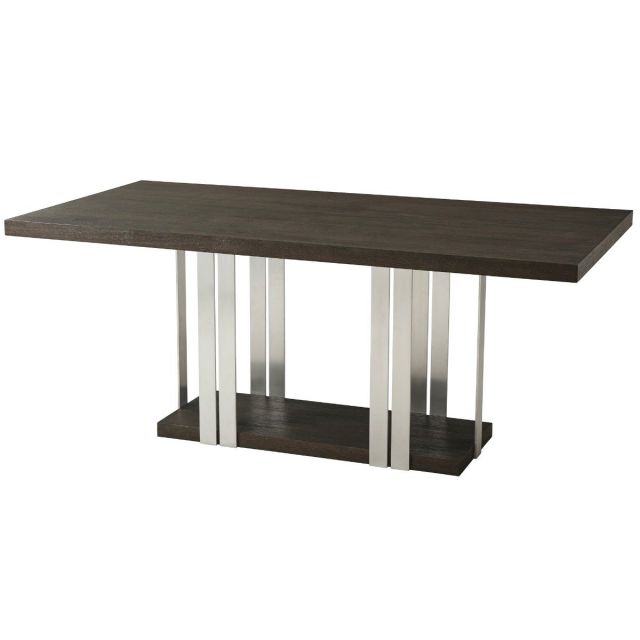 TA Studio Dining Table Tamar - Anise & Nickel