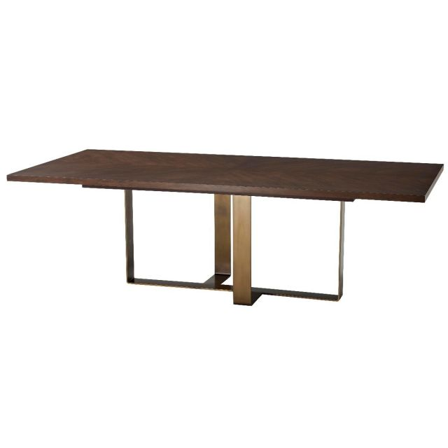 TA Studio Dining Table Adley - Almond Finish