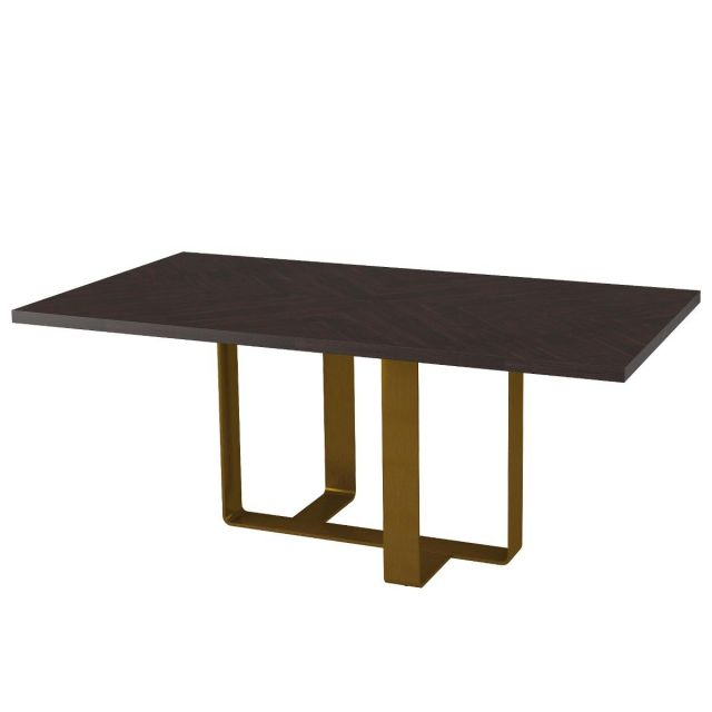 TA Studio Medium Dining Table Adley in Almond