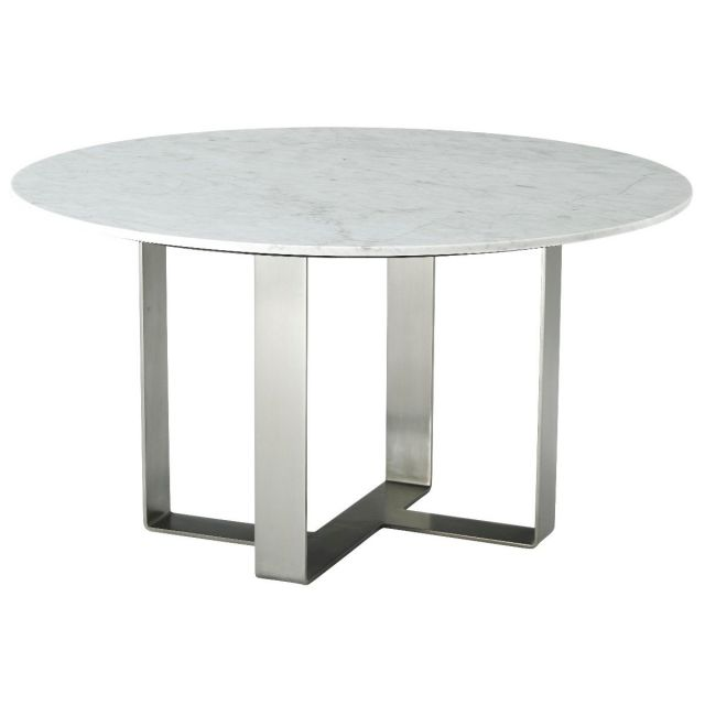 TA Studio Round Dining Table Adley in Marble