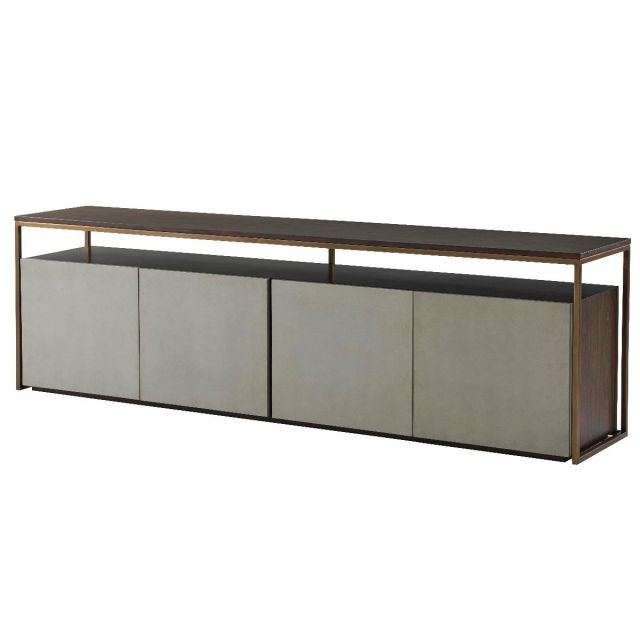 TA Studio Media Console Alphonse - Almond