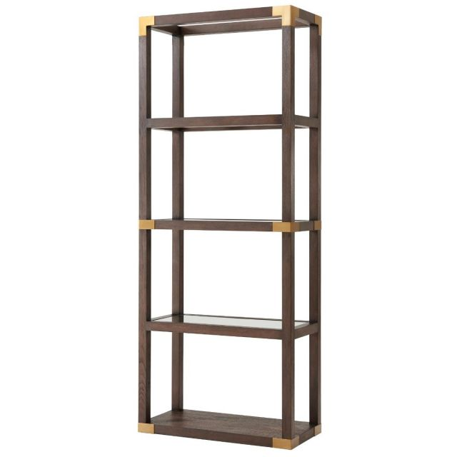 TA Studio Bookcase Drewry in Cardamon