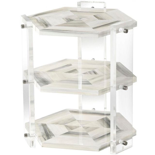 Theodore Alexander Tiers Side Table Quadrilateral