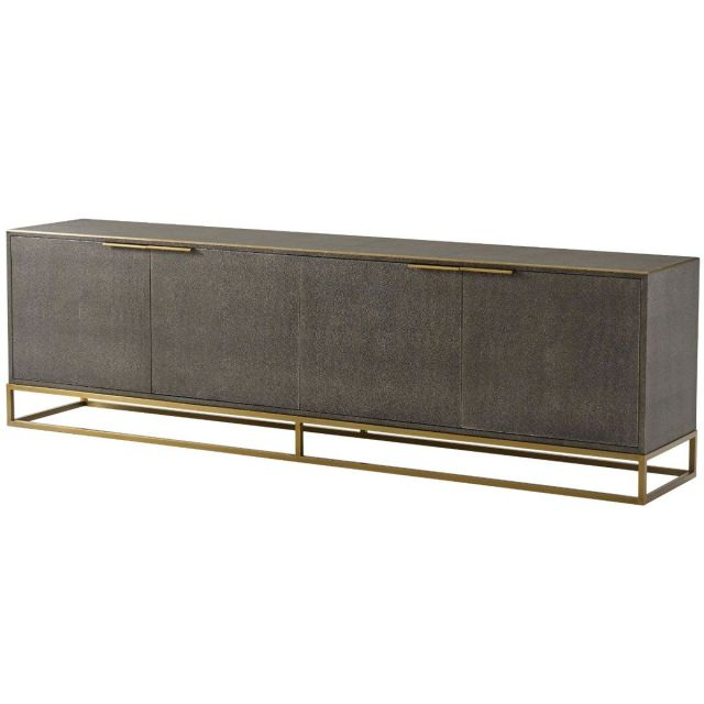 Theodore Alexander TV Cabinet Blain in Tempest