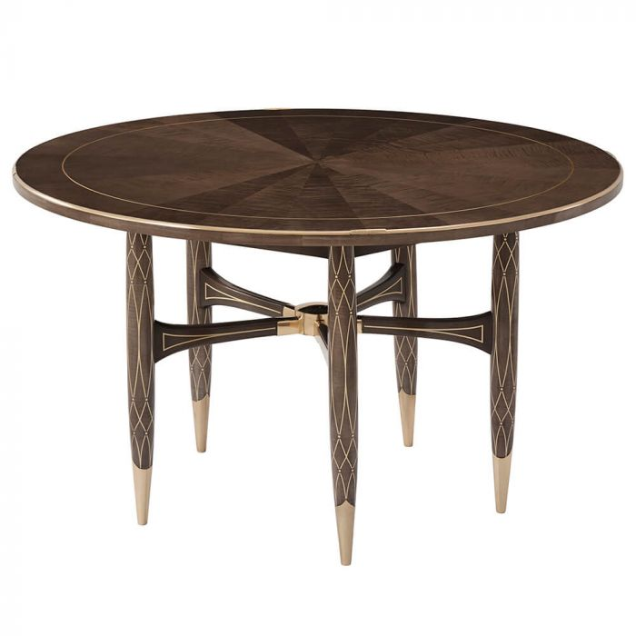 Grace Small Round Dining Table In Agate, Round Dining Table Small