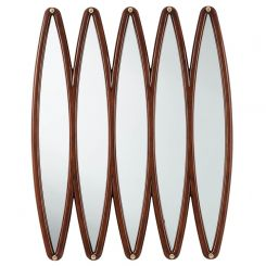 Theodore Alexander Grace Ellipses Wall Mirror