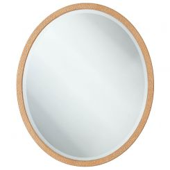 Theodore Alexander Grace Oval Wall Mirror