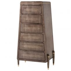 Theodore Alexander Grace Tall Chest of Drawers - Agate