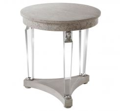 Theodore Alexander Side Table Sphinx