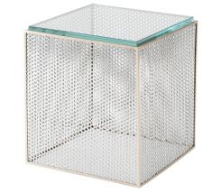 Theodore Alexander Square Side Table Flic-Flac