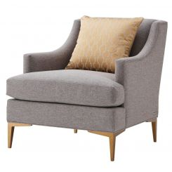 TA Studio Armchair Elaine in Pewter