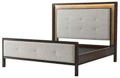 Theodore Alexander Super King Bed Frame London in Oyster