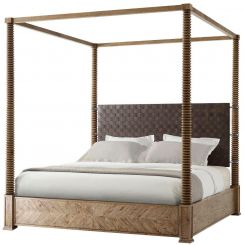 Theodore Alexander Bed Weston - Echo Oak Finish
