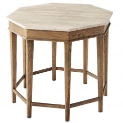 Theodore Alexander Side Table Cooper