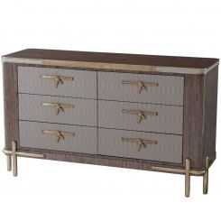 Theodore Alexander Chest of Drawers Iconic on Legs