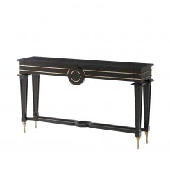 Theodore Alexander Console Table Mid Century