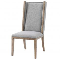 Theodore Alexander Dining Chair Aston in Pewter