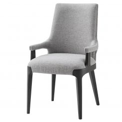 TA Studio Dining Armchair Dayton in Pewter