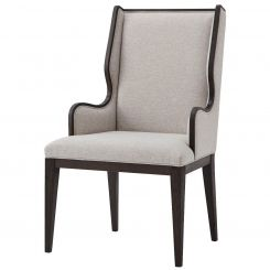 TA Studio Dining Armchair Della in Matrix Marble