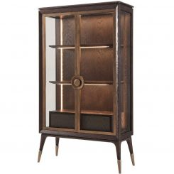 Theodore Alexander Display Cabinet Admire II - Brushed Oak