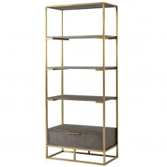 Theodore Alexander Etagere Fisher II in Tempest