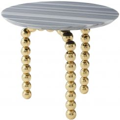 Theodore Alexander Side Table Pearls