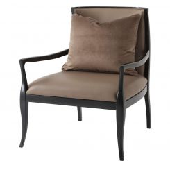 Theodore Alexander 1st Avenue Accent Chair in COM