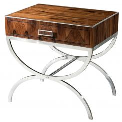 Theodore Alexander Side Table Dual Curves
