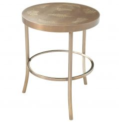 Theodore Alexander Round Side Table Discovery
