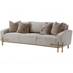 Theodore Alexander Large Sofa Iconic Quilted - COM