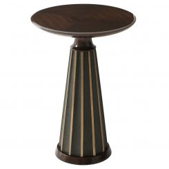 Theodore Alexander Drinks Table Hendrix - Walnut
