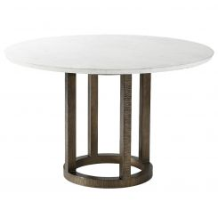 Theodore Alexander Round Dining Table Hermosa